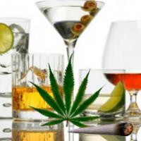 Сочетание алкоголя и марихуаны